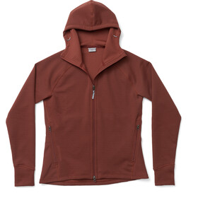 Houdini Mono Air Houdi Fleece Jacket Women, terra red